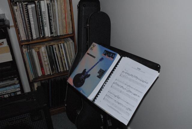 Stella's music stand