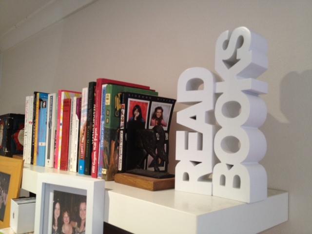 Read books! Adele Walsh, TENANT