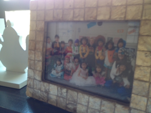 Framed photo of some of Adele's students, Adele Walsh I/V TENANT