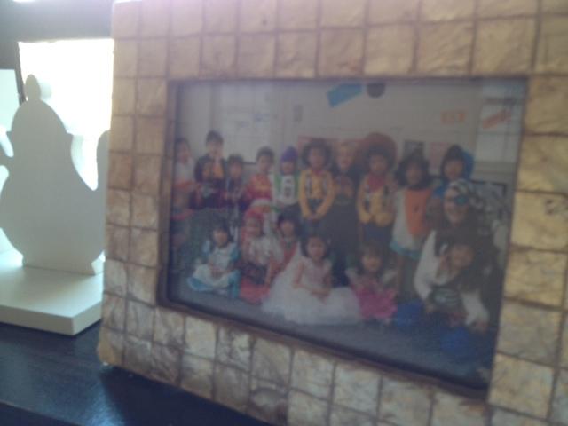 Framed photo of some of Adele's students, Adele Walsh I/V TENANT