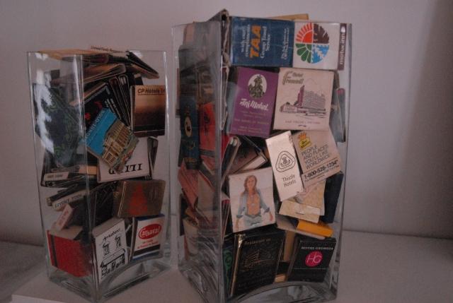 Sarah's very good looking matchbox collection