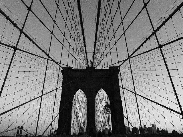 NYC Brooklyn Bridge - by Amy