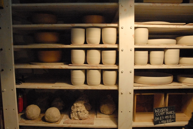 Drying pots