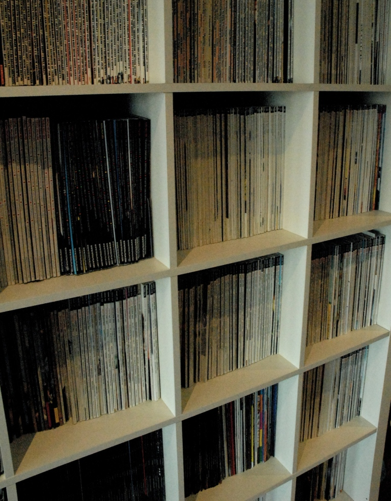 Ali's partner is a film buff - check out his amazing film magazine collection - I was so jealous!