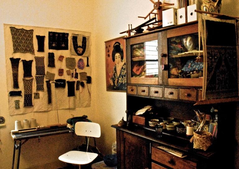 Julia's knitting room