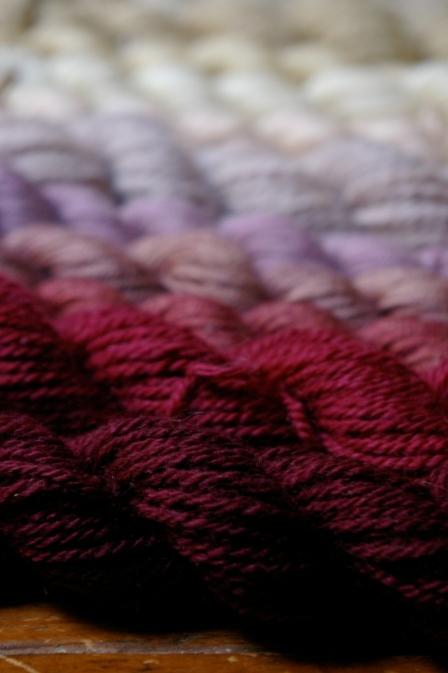 Woollenflower, Plant-dyed yarn