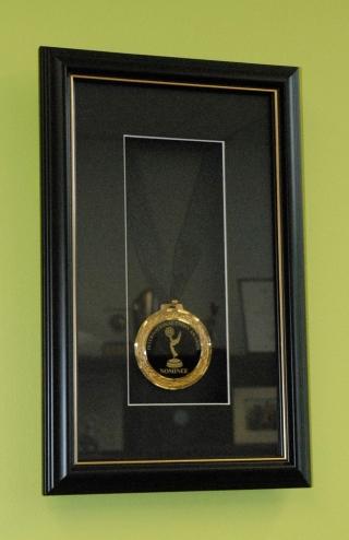 Framed DANCE ACADEMY Emmy Award Nomination