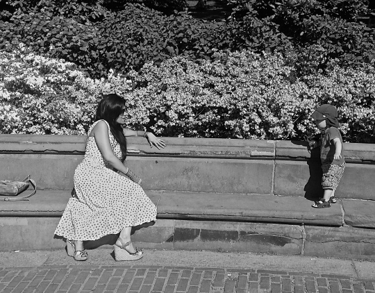 Sebrina and Ed, Central Park, New York