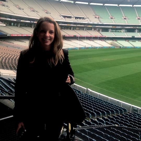 Sarah - MCG #NACB14