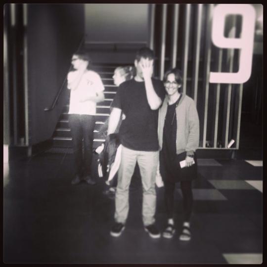 Lou & Sebbo at the Plenary Melbourne