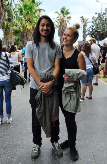 Cuong and Jess