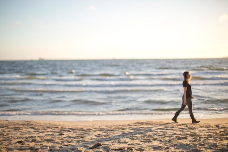 Elise, beach photo credit Fi Mims